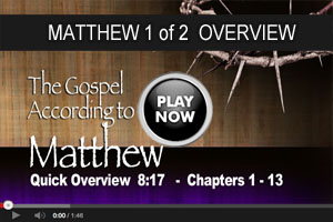 Mathew overview 1of2 video